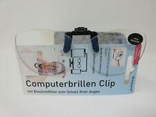 Anti Blue Light Clip Größe2 mit Blaulichtfilter ideal für arbeiten am PC/Tablet