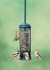 """New listing Squirrel Buster Mini 4.4""""x4.4""""x21 34; w/hanger Wild Bird Feeder with 4 Metal 1.3lb"""