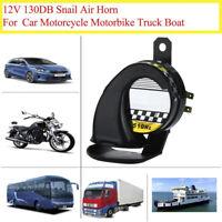 12V Waterproof Loud Snail Air Horn Siren 130dB For Universal Motorcycle Truc Z'.