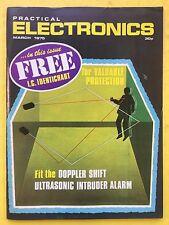 PRACTICAL ELECTRONICS - Magazine - March 1975 - Ultrasonic Intruder Alarm