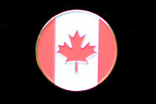 CANADIAN FLAG  Golf Ball Marker