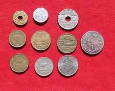 LIBAN LOT DE 10 MONNAIES  1925 - 1975   !