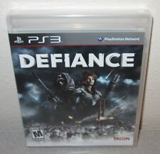 DEFIANCE Sealed NEW PlayStation 3 PS3 Sci-Fi Action Adventure Shooter Syfy Trion