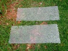Aluminium expanding MESH  800mm x 400mm *** 2 pieces*** 32x 14mm rised lipped