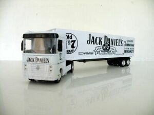 Renault Day Cab Semi Trailer 1/43 Trucks  Diecast Jack Daniel's Custom Graphics