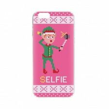 Flavr 26825 Ugly Xmas Sweater Selfie Elfie iPhone 6/6S Case - Pink