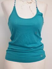 Live Love Dream Green Tank Top with Cross Back Straps Size Medium
