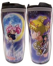 **License Cup** Sailor Moon Tuxedo Crystal Tokyo Tumbler Coffee Mug #69543