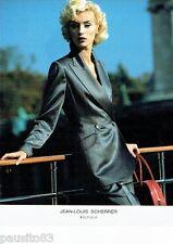 PUBLICITE ADVERTISING 106  1996  Jean-Louis Scherrer  haute couture 2