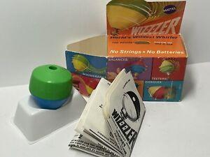 Vintage toy with paperwork box Whizzer spinning top Wizzzer Mattel Wizzer 1969