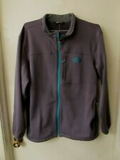 The North Face Gray with Teal Full-Zip Jacket Men's Size XL