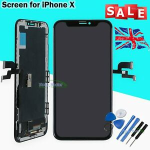 Replacement For iPhone X OLED 3D Touch Screen Digitizer Assembly Display LCD UK