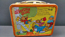 Vintage Berenstain Bears 1983 Aladdin Lunch Box - With THERMOS nice condition