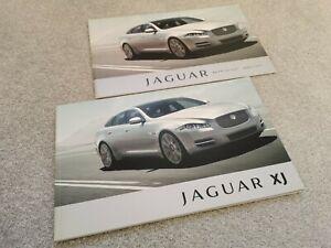 Jaguar XJ UK Brochure +Price List 2011 Incl Luxury/Premium/Portfolio/Supersport