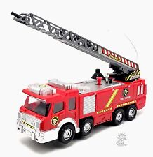 Fire Squad Water Squirting Battery Operated Fire Engine Children Kids Toy