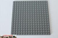 Lego® 91405 Grundplatte Bauplatte Plate 16X16 beidseitig neues Dunkelgrau