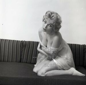 1960s Negative-sexy blonde pinup girl Carol Dean-cheesecake t439780
