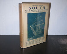 Ernest Shackleton South Published 1926 HB Nice Jacket Scarce Polar Exploration