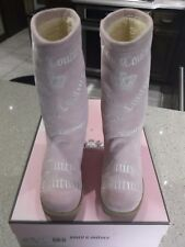 Juicy Couture Girls Angel Kid BOOTS, Alva Pink size 13E, US
