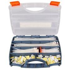700-Teiliges Kabelbinder und Klebesockel Sortiment im Koffer Set von Tifler