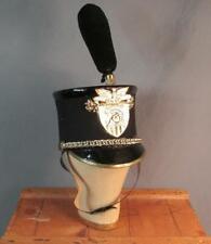 Vintage 1960s West Point USMA Military Academy Cadet Shako w/ Pompon Parade Hat