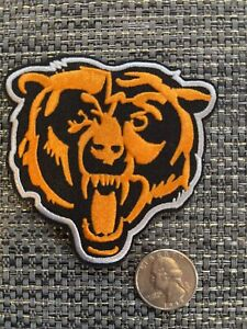"""Chicago Bears 3""""Patch Old Logo Embroidered IRON ON Patch 3"""" X 3"""""""