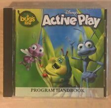 Disney/Pixar Active Play A Bug's Life CD-ROM Ages 4-8/ Windows 95
