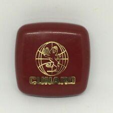 Lancome Paris Savon soap dish Cunard Cruise Line plastic British Lion gold logo