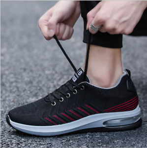 New Men's shoes Casual sports shoes Running shoes AIR Breathable Athletic Shoes