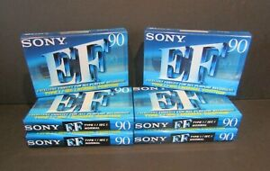 Philips EF 90 x6 Blank Cassette Tapes Cassettes New & Sealed