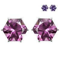 Zandrite Color Change Stud 925 Sterling Silver Earrings Jewelry AE28236