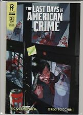 The Last Days of American Crime #3 Radical  Unused Stock  B&B HL7.904