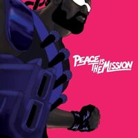 MAJOR LAZER - PEACE IS THE MISSION  CD NEW