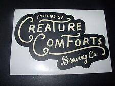 CREATURE COMFORTS co tropicalia athena STICKER decal craft beer brewery brewing