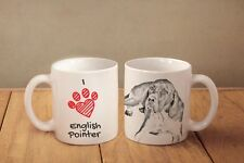 "English Pointer - ceramic cup, mug ""I love"", Ca"