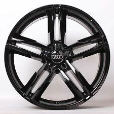 17 Zoll Alufelgen für Audi A4 B8 8K S5 A5 8T S6 A6 4G 4G1 A7 Q5 8R FY WH11 Black