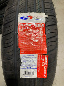 1 New 225 65 16 GT Radial Champiro Touring A/S Tire