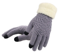 High Quality Women Winter Warm Gloves Touch Screen Mittens Full Finger Gloves