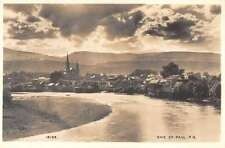 Baie Saint Paul Quebec Canada birds eye view of area real photo pc Z19529