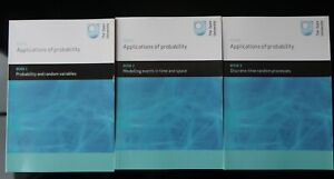 Open University M343 Applications of probability LIKE NEW