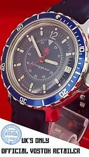 NEW VOSTOK Komandirskie RUSSIAN MILITARY WATCH - OFFICIAL UK RETAILER