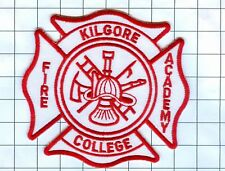 Fire Patch -KILGORE COLLEGE FIRE ACADEMY