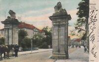 Alte Ansichtskarte von Göttingen nach Leiden, 1906