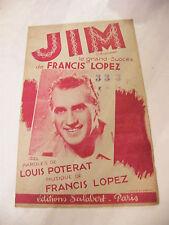 Partition Jim de Francis Lopez