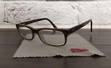 Ray Ban RB5187 Square Augenoptiker Brille Frames Braun Tortoise 50mm $155