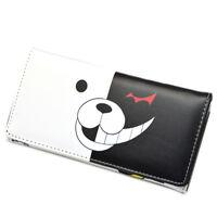 Anime Danganronpa Monokuma Long Style Wallet Card Holder Purse HandBag Cosplay