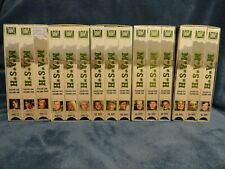 M.A.S.H VHS Season 1-2-3-4-5 Total 15 VHS Tapes W/ Alan Alda