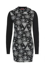 JAWBREAKER ILLUMINATI GOTHIC DRESS ROCK SHIRT TUNIC ROCKABILLY GOTH PUNK DRA2451