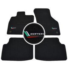 4 Carpet Floor Skoda Octavia 3 2012-UP Tdi TSI Rs Mat Logo Edition Specific