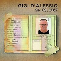 Gigi D'Alessio 26.02.1967 CD Digipack .- Sanremo 2017 - Nuovo Sigillato N